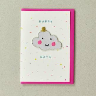 Patch Cards Happy Days Cloud by Petra Boase | Restoration Yard