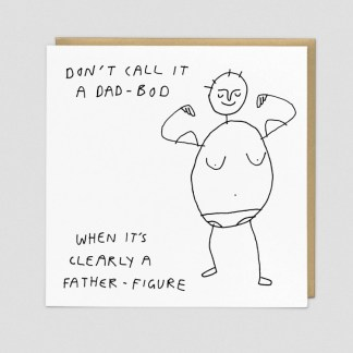 Dad Bod Greeting Card by Redback | Restoration Yard