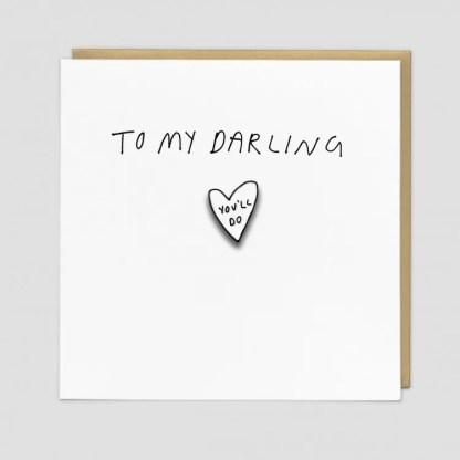 Darling Greeting Card by Redback | Restoration Yard