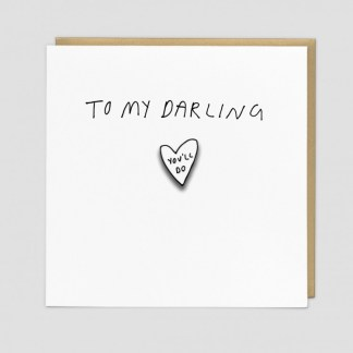 Darling Greeting Card by Redback | Restoration Yard
