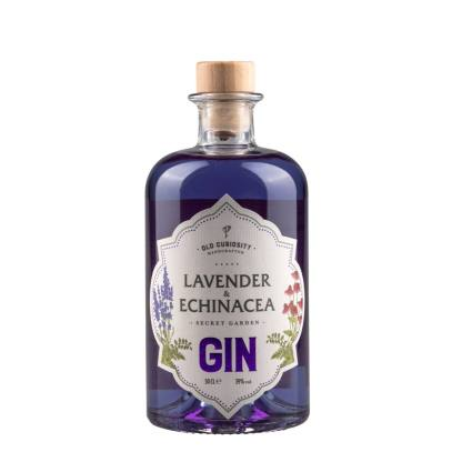 Lavender and Echinacea Gin 50cl by The Old Curiosity Distillery | Restoration Yard