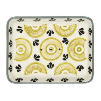 Soap Dish Lime Green Black Design by Tranquillo | Restoration Yard
