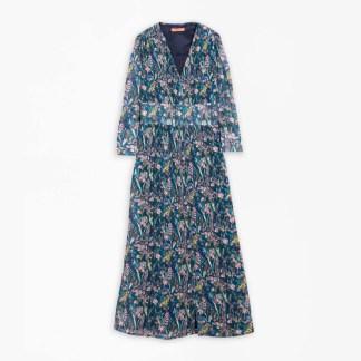 Satina Dress Tivoli Plumeti by Vila Gallo | Restoration Yard