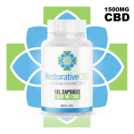 1500mg Full Spectrum Gel CBD Capsules - Restorative CBD