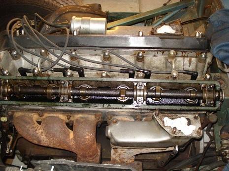 1968 Jaguar Xke Engine Restoration