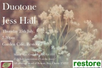 Duotone and Jess Hall gig in the Garden Café