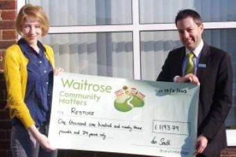 Waitrose Headington supports Restore