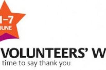 Volunteers' Week: THANK YOU to all our volunteers