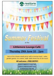 Littlemore Summer Festival 2017 @ Littlemore Mental Health Centre,  | England | United Kingdom