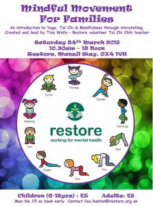 Mindful Movement For Families @ Restore | England | United Kingdom