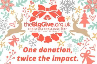 the 'BigGive' Christmas Challenge