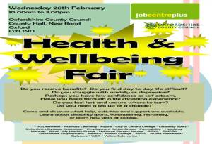 Health & Well-being Fair @ County Hall | England | United Kingdom