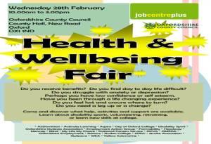 Health & Well-being Fair @ County Hall | England | United Kingdom