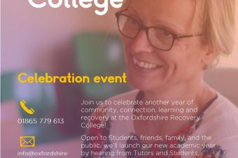 Oxford Recovery College start of term celebration