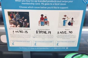 £4,312.70 raised for our Didcot Fleet Meadow Recovery Group from the Co-op!