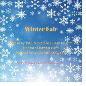 Winter fair @ Restore Garden Cafe   England   United Kingdom