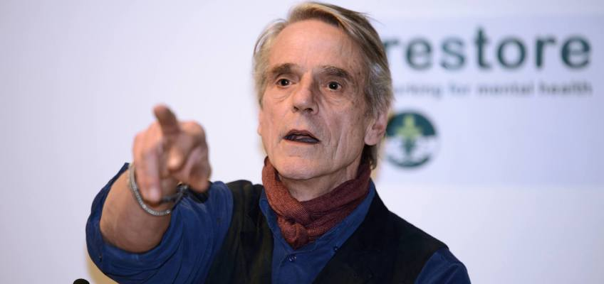 Hollywood actor Jeremy Irons becomes Restore's patron