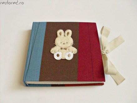 album handmade bebe iepuras