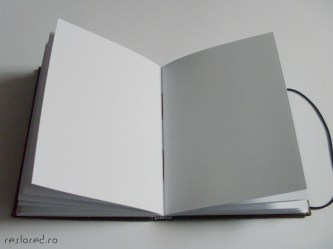 jurnal handmade piele maro3