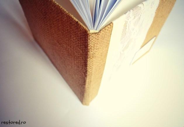 guestbook rustic dantela2