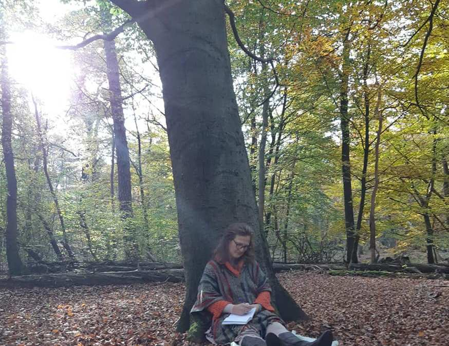 connecting with the GODDESS OF THE FOREST, the beech tree 🌳