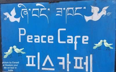 The peace cafe 🕉💗🕯