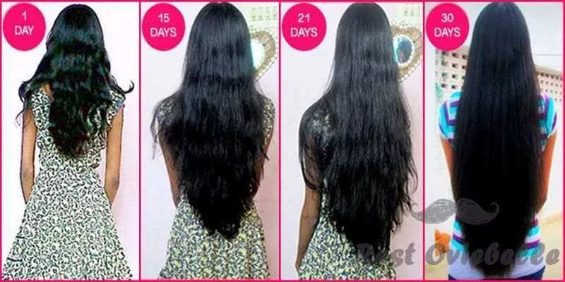 How Much Does Hair Grow On Average In One Month Restoviebelle