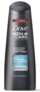 Dove Men Care 2-in-1 Conditioner And Anti Dandruff Shampoo