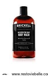 Brickell Invigorating Mint Body Wash