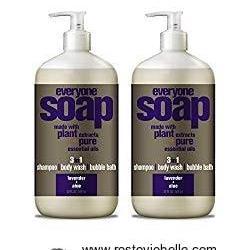 Everyone 3-In-1 Soap, Lavender plus Aloe