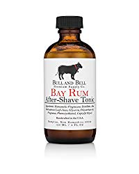 The Bull and Bell Bay Rum Aftershave