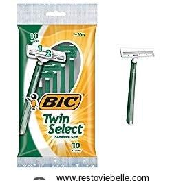 Bic Twin Select Sensitive Skin Disposable Razor