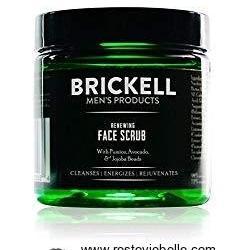 BRICKELL RENEWING FACE SCRUB FOR MEN