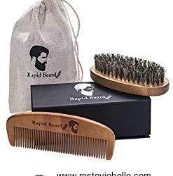 Repsol Care Beard Brush and Beard Comb Kit