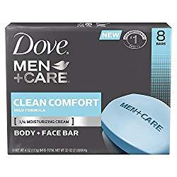 Dove Men Care Body Face Bar, Clean Comfort - Best body soap