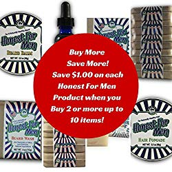 Honest For Men Beard Wash 1