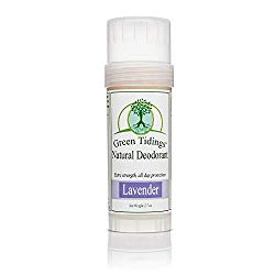 Organic All Natural Lavender Deodorant by Green Tidings