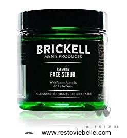 BRICKELL Renewing Face Scrub For Men