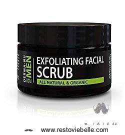 Derma-nu Exfoliating Facial Scrub for Men