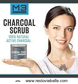 M3 Naturals Activated Charcoal Scrub 1