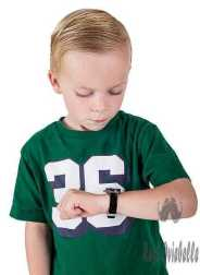 young boy watching the time on his wristwatch - hair gel for boys s and pictures Things To Consider When Buying Hair Gel HOLD And SHINE