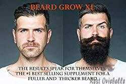 Beard Grow XL A Facial Hair Supplement 1
