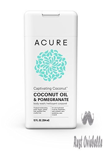 Acure Captivating Coconut Body Wash, 12 Fluid Ounces
