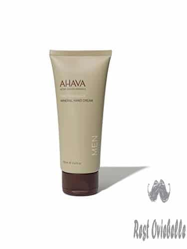 AHAVA Men's Dead Sea Mineral Hand Cream, Time to Energize - 3.4 Fl Oz