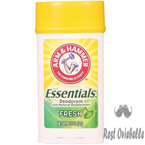 Arm & Hammer Essentials Natural Deodorant, Fresh 2.5 oz (Pack of 6)  Image