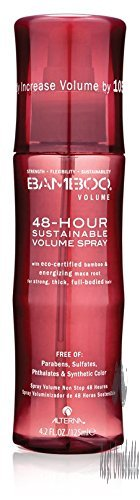 Bamboo Volume 48-Hour Sustainable Volume Spray, Blow Dry Spray, 4.2-Ounce