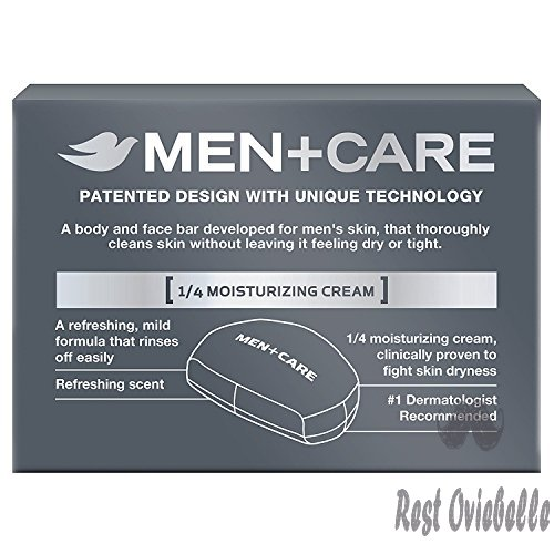 Dove Men+Care Body and Face Bar, Clean Comfort 4 oz, 16 BARS  Image 1