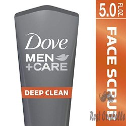 Dove Men+Care Face Scrub, Deep