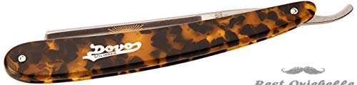 DOVO DOVO-special Straight Razor with Imitation Tortoiseshell Handle 5/8 Inch, 10 g.  Image 1