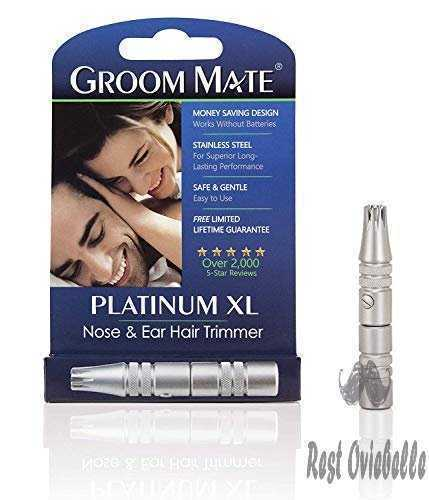 Groom Mate Platinum Xl Nose & Ear Hair Trimmer 1